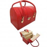 Шкатулка для бижутерии «Мон Ами» CX7105, красная