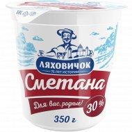 Сметана «Ляховичок» 30%, 350 г