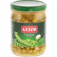 Горошек зеленый «Gusto» 450 г.