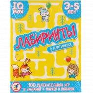 Головоломки «IQ Box» для детей 3-5 лет.