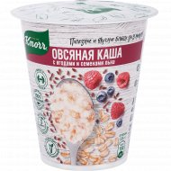 Каша овсяная «Knorr» с ягодами и семенами льна, 45 г