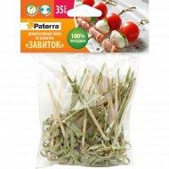 Пики декоративные из бамбука «Paterra» завиток, по 35 шт.