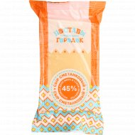 Сыр «Сметанковый» 45%, 180 г.