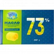 Масло сливочное «Новогрудские дары» Крестьянское, несоленое, 73%, 100 г
