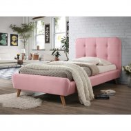 Кровать «Signal» Tiffany, розовый, 90х200 см