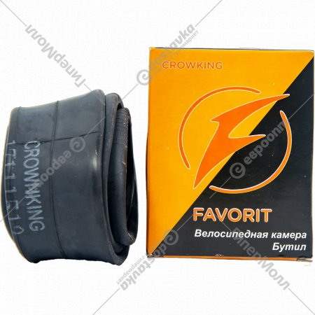 Велокамера «Favorit» 27.5x1.95/2.125 дюймов, AV-48MM.