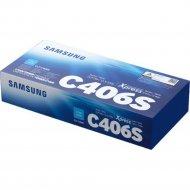 Картридж «Samsung» CLT-C406S/SEE, голубой