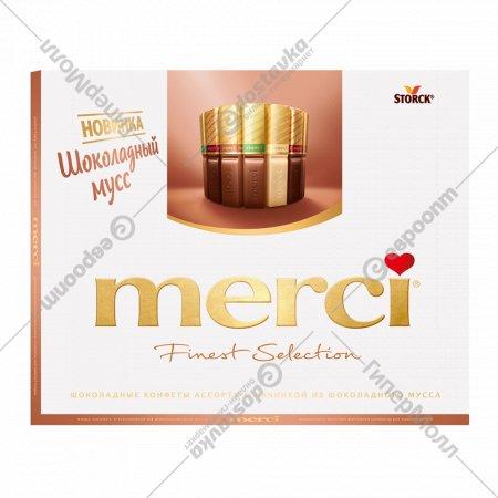 Набор шоколадных конфет «Merci» 210 г.