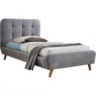 Кровать «Signal» Tiffany, серый, 90х200 см