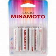 Элемент питания «Minamoto» LR6 4BP, 4 шт.