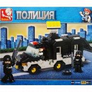 Конструктор детский «Sluban» военная полиция, M38-B1900.