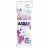 Бритвы «RAZAR 2» одноразовые для женщин 2 шт.