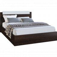 Кровать «Мебель Эра» Эко, венге/лоредо 0.9