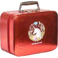 Косметичка «Мон Ами» CX7518-2, красная