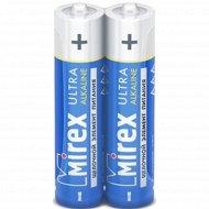 Батарейка щелочная «Mirex» R03 AAA, LR03-S2, 1.5V, 2 шт.