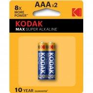 Элементы питания «Kodak Max».АААх2 шт.