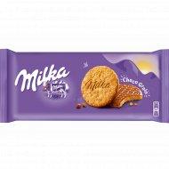Печенье «Milka» с овсяными хлопьями в молочном шоколаде, 168 г.