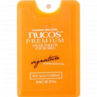 Туалетная вода для женщин «Nucos» Signature, 20 мл
