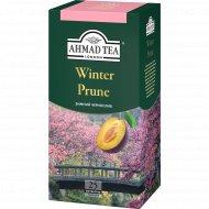 Чай черный «Ahmad» зимний чернослив, с ярлыком, 25х1.5 г.