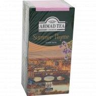 Чай черный «Ahmad» с чабрецом, 25 пакетиков.