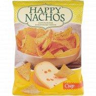 Чипсы кукурузные «Happy Nachos» со вкусом сыра, 75 г