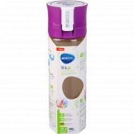 Бутылка-фильтр для воды «Филл-энд-гоу» фиолетовая.