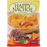 Чипсы кукурузные «Happy Nachos» со вкусом барбекю, 75 г