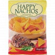 Чипсы кукурузные «Happy Nachos» со вкусом барбекю, 75 г
