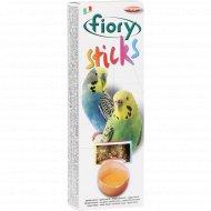 Палочки для попугаев «Fiory» с яйцом, 60 г.