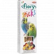 Палочки для попугаев «Fiory» с фруктами, 60 г.