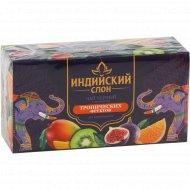 Чай черный «Индийский слон» с ароматом тропических фруктов, 20 пакетиков.
