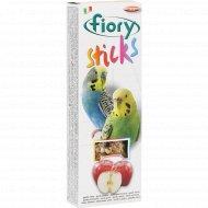 Палочки для попугаев «Fiory» с яблоком, 60 г.