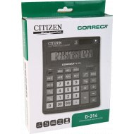 Калькулятор «Citizen» D-314, электронный.
