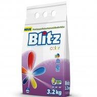 Стиральный порошок «Blitz» для стирки цветных тканей, 44 стирки, 3.2 кг.