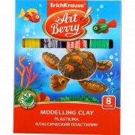 Пластилин классический «Art Berry» 8 цветов.