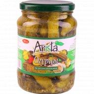 Огурцы консервированные «Arista» 3-6 см, 680 г.