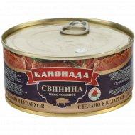 Консервы «Канонада» свинина тушеная, 300 г.