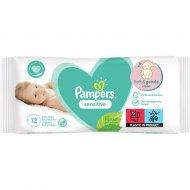 Детские влажные салфетки «Pampers» Sensitive, 12 шт.