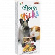 Палочки для кроликов «Fiory» с фруктами, 100 г.
