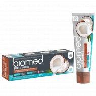 Зубная паста «Biomed» Superwhite» отбеливание и укрепление, 100 мл.