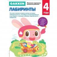 Книга «Gakken. 4+ Лабиринты».