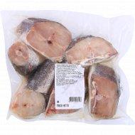 Рыба свежемороженая «Стейк хека» замороженная, 1 кг., фасовка 0.8-1 кг