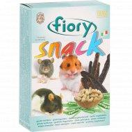 Снеки для грызунов «Fiory» с овощами и фруктами, 80 г.