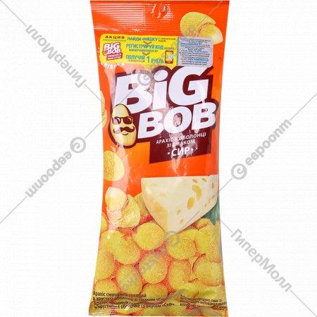 Арахис жареный соленый «Big Bob» со вкусом сыра, 60 г.