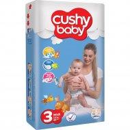 Детские подгузники «Cushy Baby» Jumbo pack, Midi, 3, 70 шт.