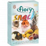 Снеки для грызунов «Fiory» с фруктами, 80 г.