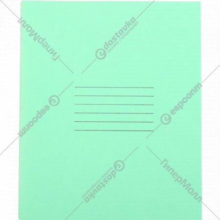 Тетрадь школьная в мелкую клетку, 18 листов.