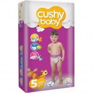 Детские подгузники «Cushy Baby» Jumbo pack Junior , 5, 52 шт.