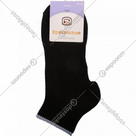 Носки женские «Брестские» черные, размер 25.