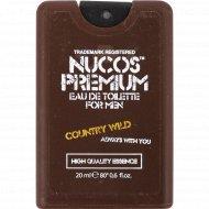 Туалетная вода для мужчин «Nucos» Country Wild, 20 мл